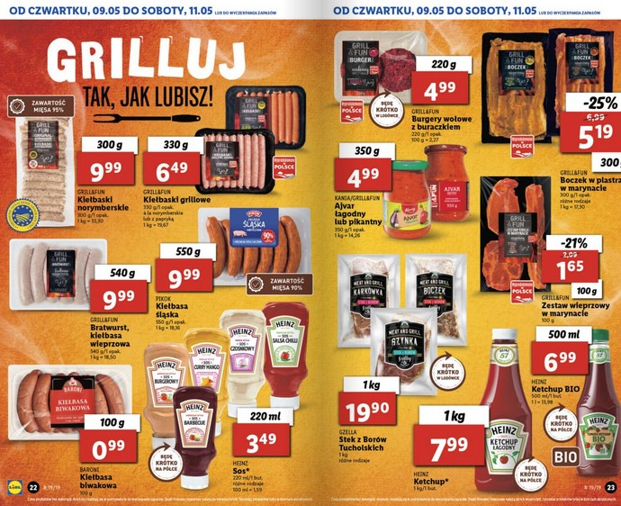 lidl gazetka od 9 05 oferta wazna od 9 05 do 11 05 str. 10