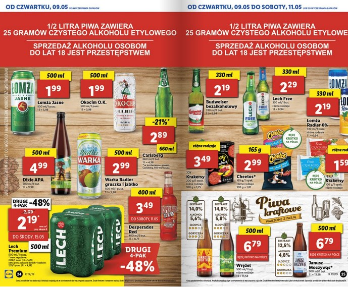 lidl gazetka od 9 05 oferta wazna od 9 05 do 11 05 str. 11