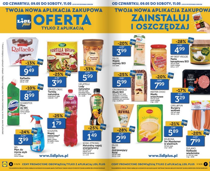 lidl gazetka od 9 05 oferta wazna od 9 05 do 11 05 str. 3