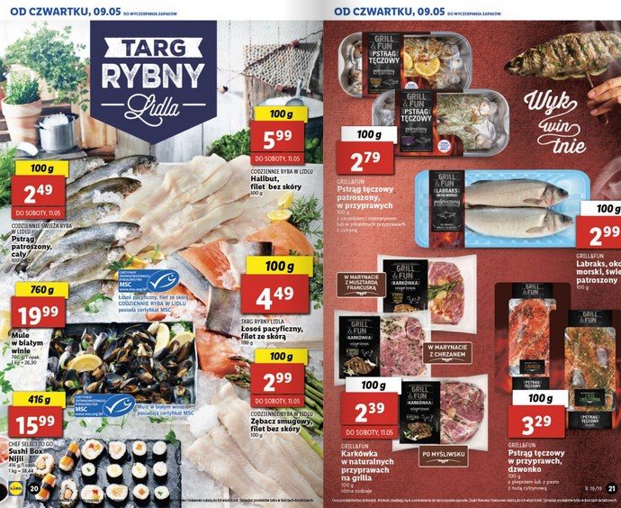 lidl gazetka od 9 05 oferta wazna od 9 05 do 11 05 str. 9
