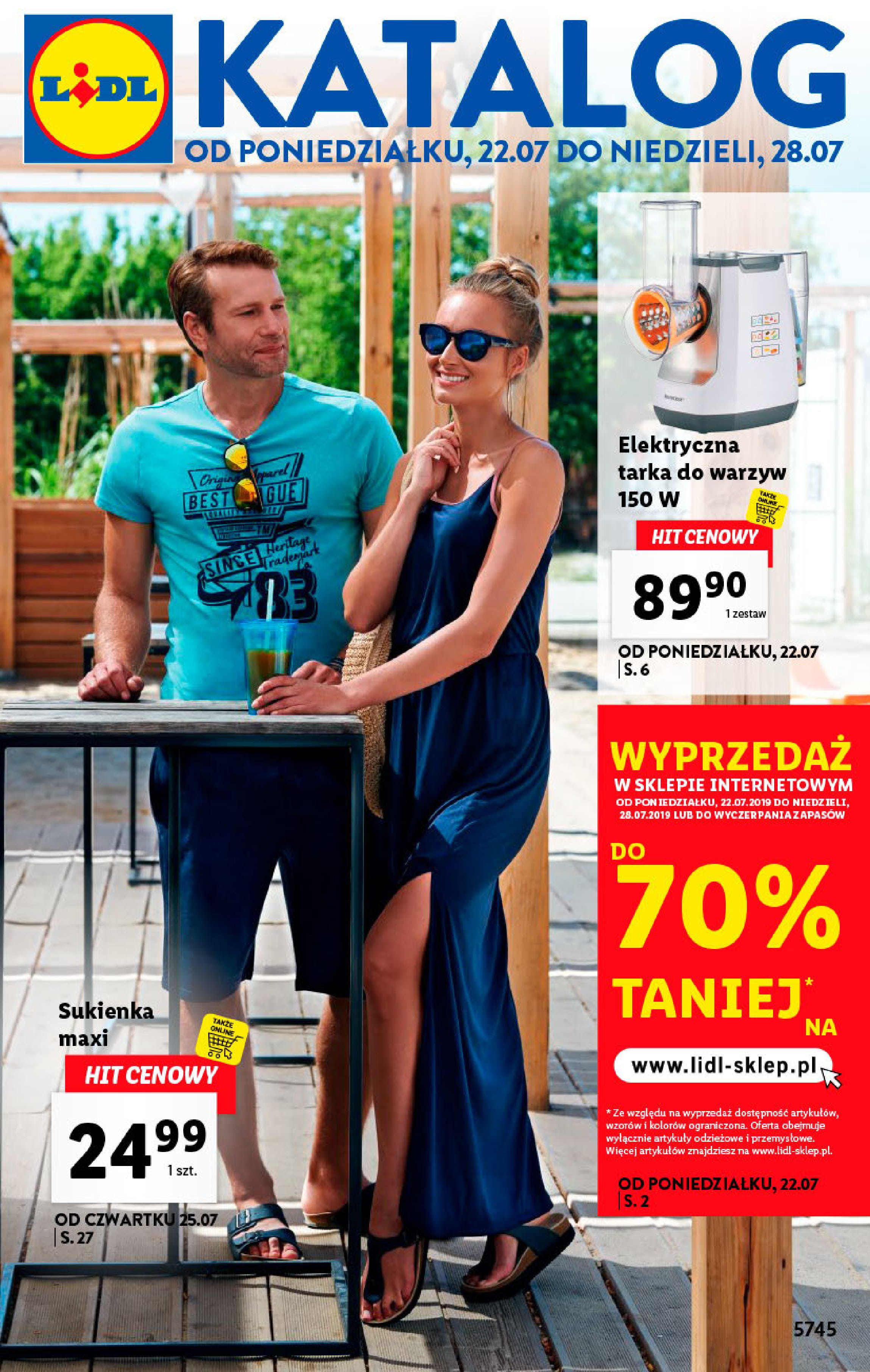4dae5f516a0471 Lidl gazetka, oferta, promocje od 22.07   Aktualne Gazetki Promocyjne
