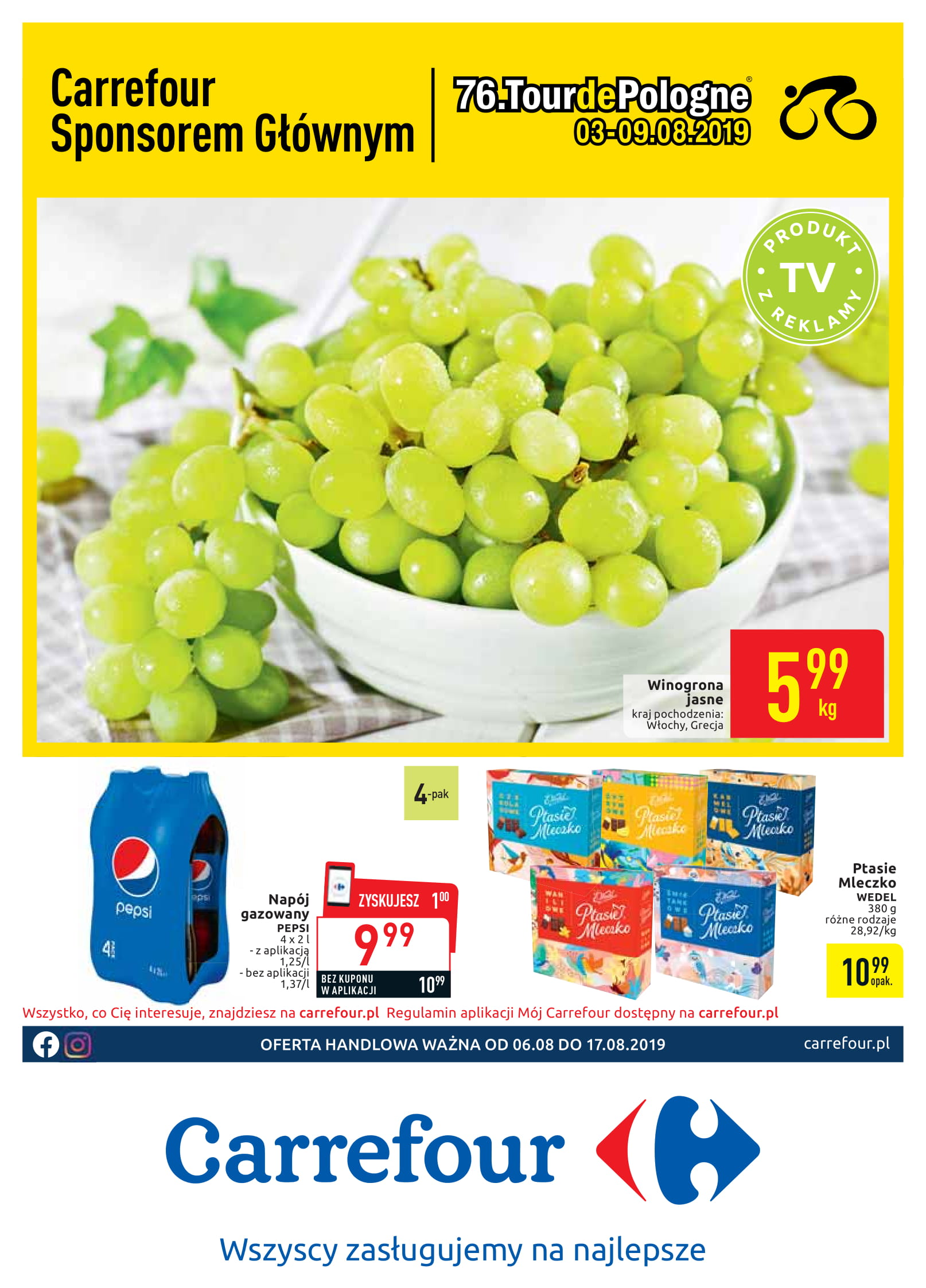 Carrefour gazetka ważna od 06.08 do 17.08