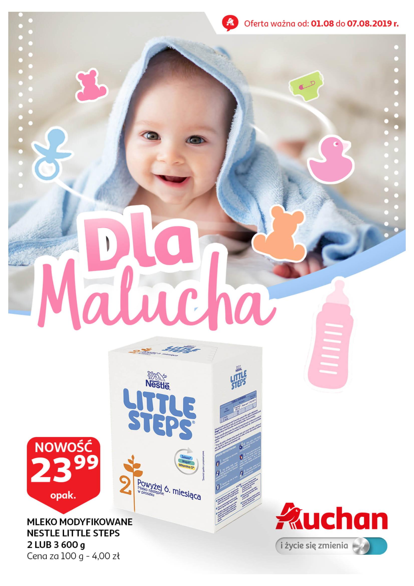 Auchan: Gazetka Wszystko dla dziecka od 01.08 – 07.08