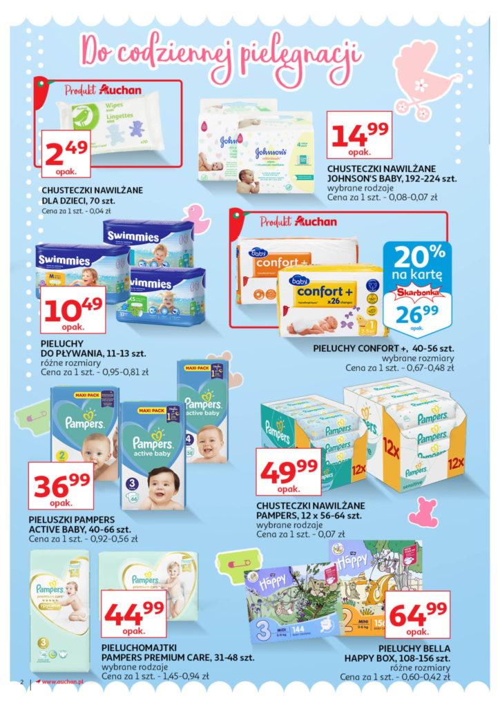 Auchan: Gazetka Wszystko dla maluchówod 01.08 – 07.08 #2