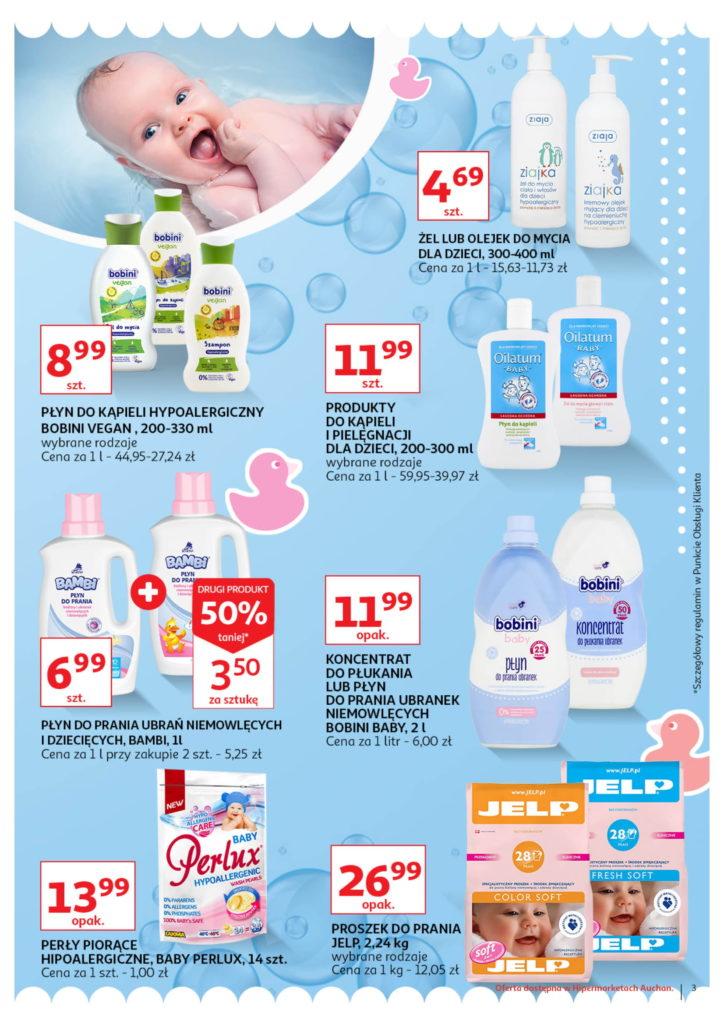 Auchan: Gazetka Wszystko dla maluchówod 01.08 – 07.08 #3