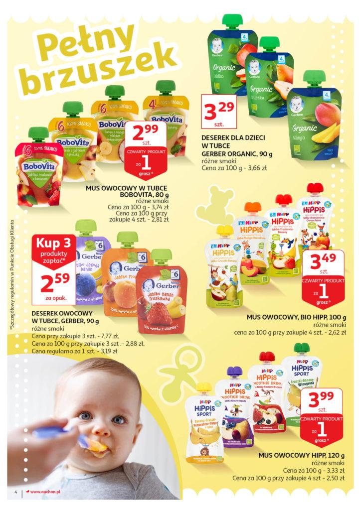 Auchan: Gazetka Wszystko dla maluchówod 01.08 – 07.08 #4