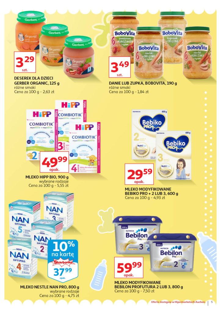 Auchan: Gazetka Wszystko dla maluchówod 01.08 – 07.08 #5
