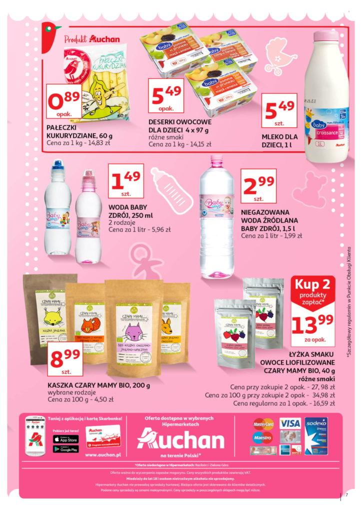 Auchan: Gazetka Wszystko dla maluchówod 01.08 – 07.08 #7