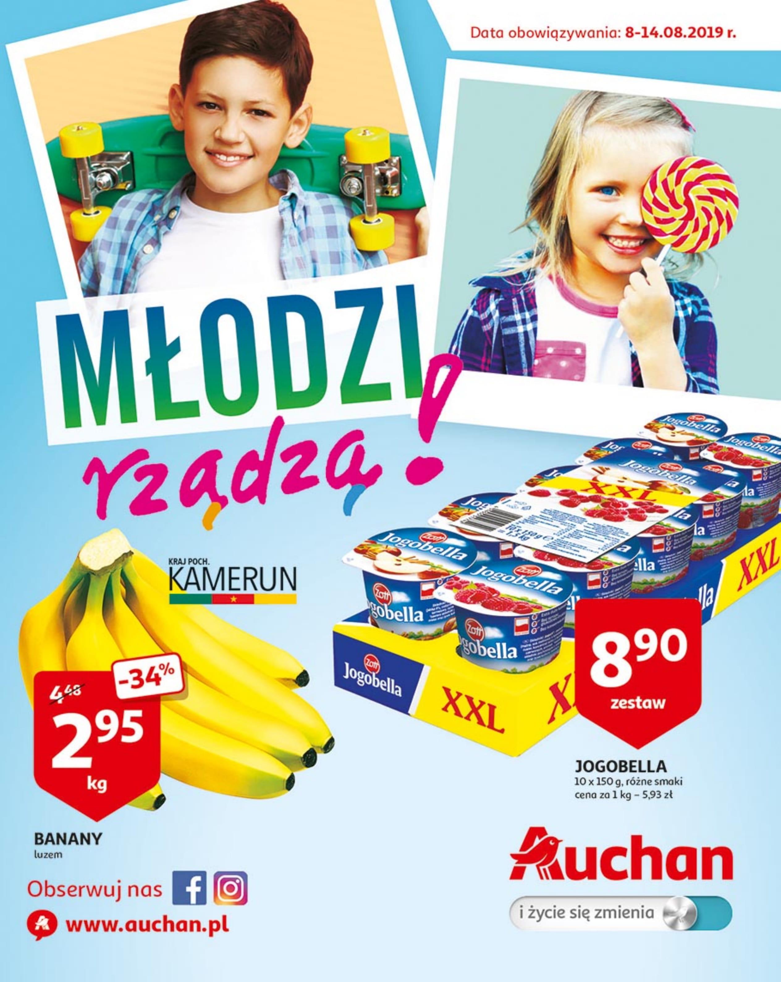 Auchan: Młodzi rządzą! Od 08.08.2019 do 14.08.2019