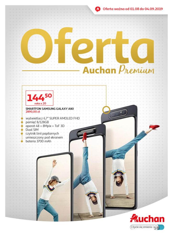 Gazetka Auchan Premium od 01.08.2019 - 04.09.2019 #1