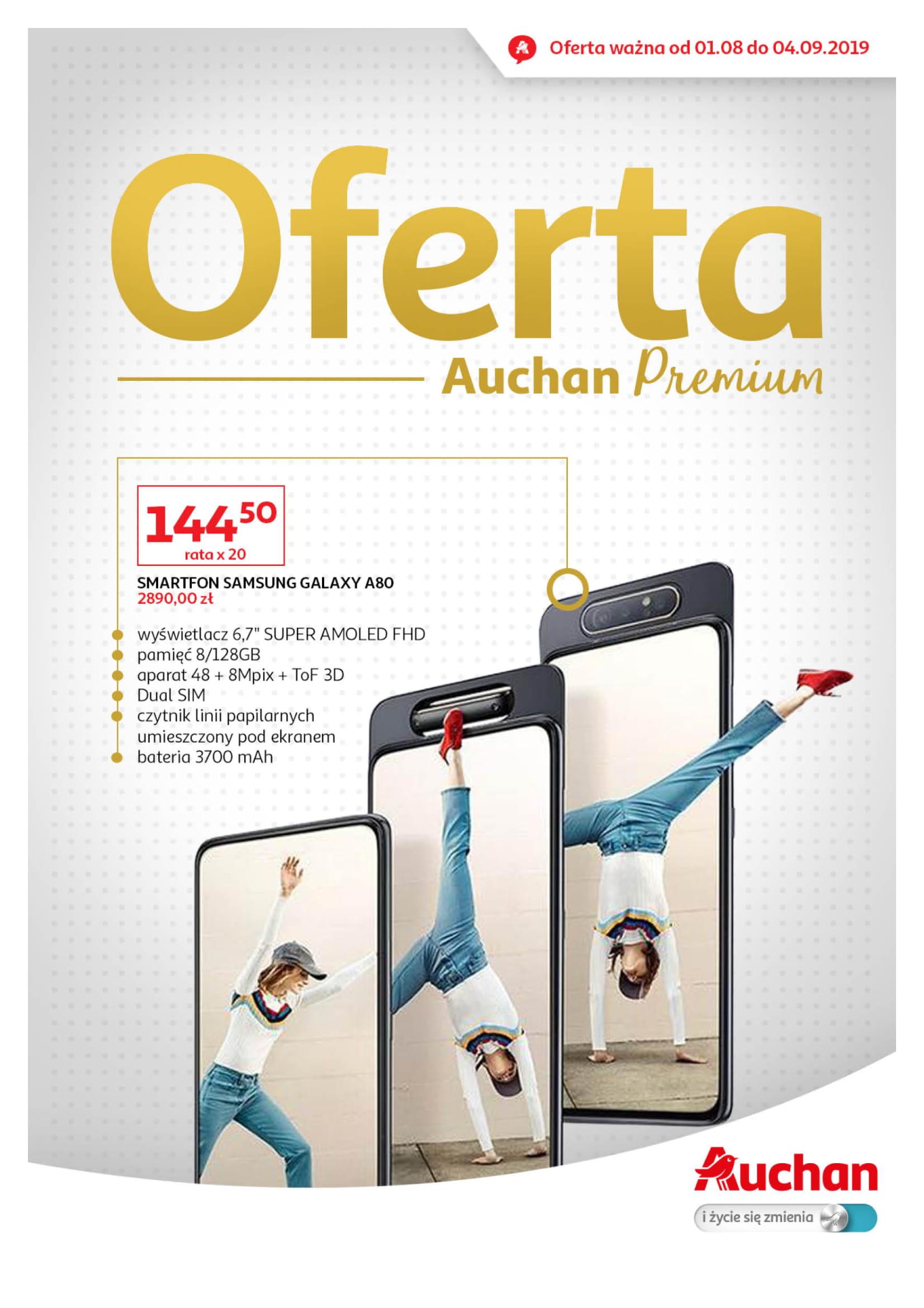 Auchan: Gazetka Premium od 01.08 – 04.09