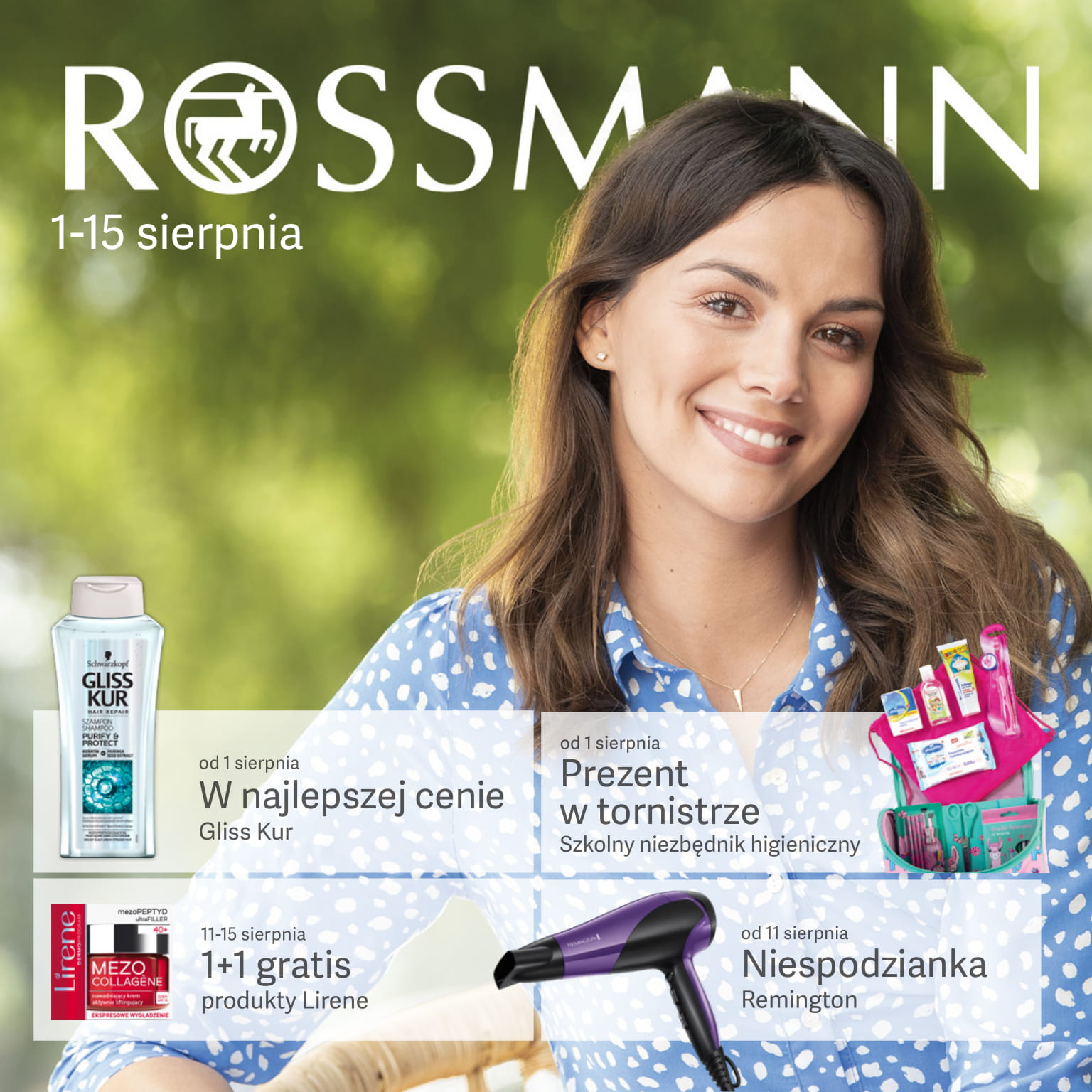 Rossmann gazetka od 01.08 do 15.08.2019